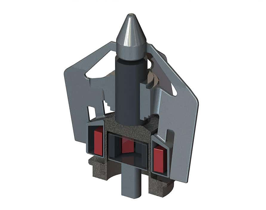 Agitador Magnético Metenova ZG5 Sección